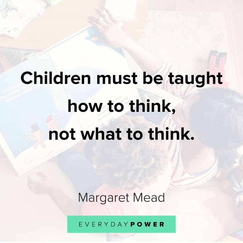 Inspirational quotes for kids about critical thinking