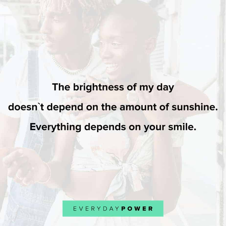 Love quotes for him celebrating your sunshine