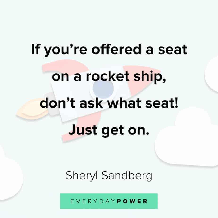 Quotes by Famous People on getting on