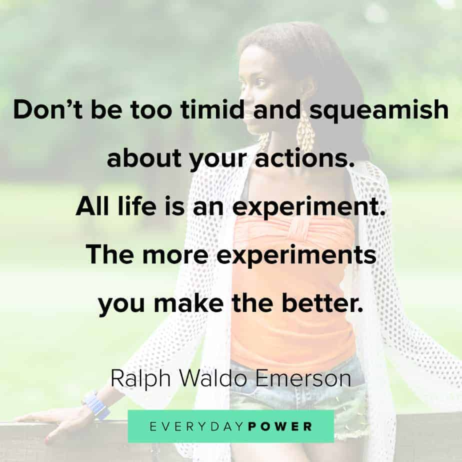 Quotes by Famous People on taking action