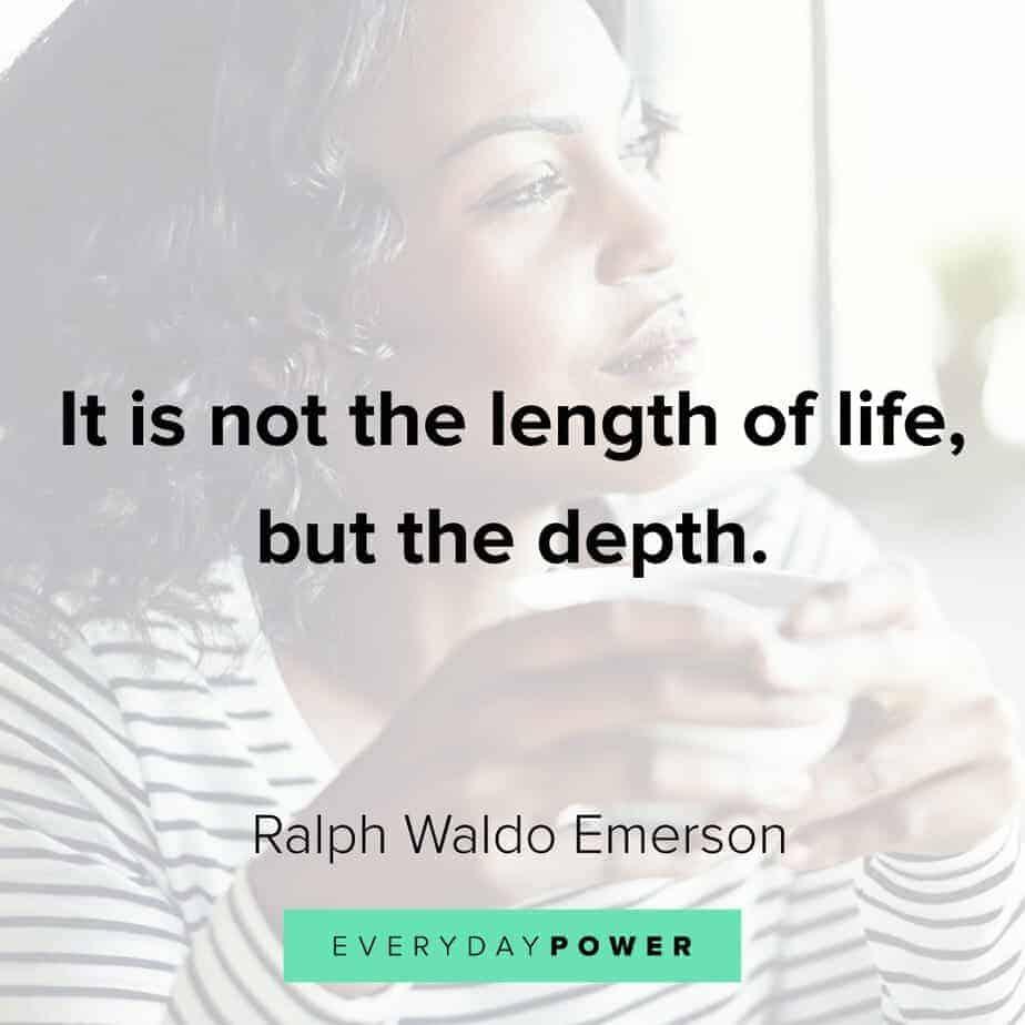 Ralph Waldo Emerson quotes on progress