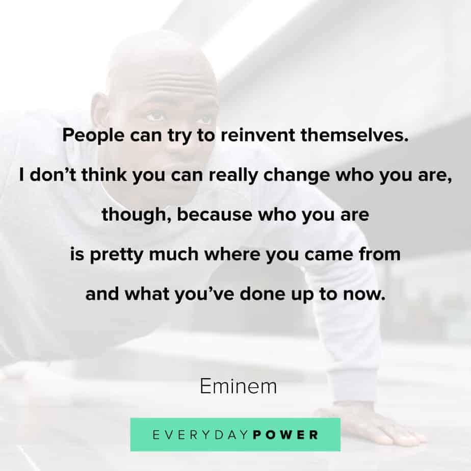 best Rap Quotes about change
