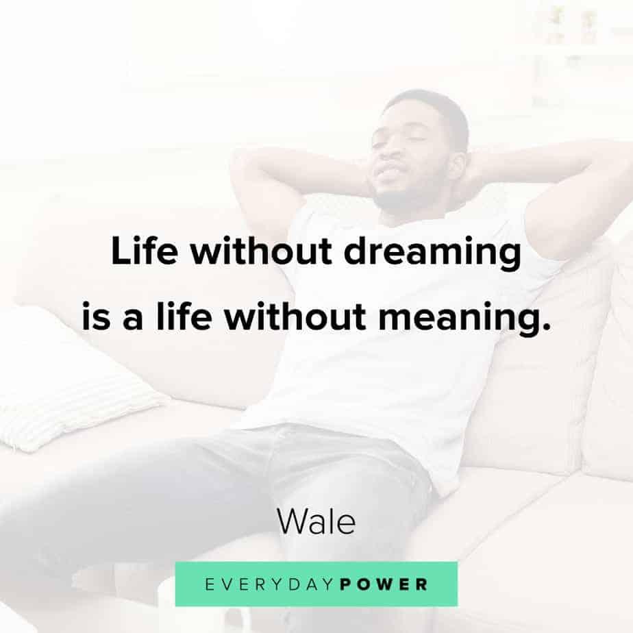 best Rap Quotes about dreams