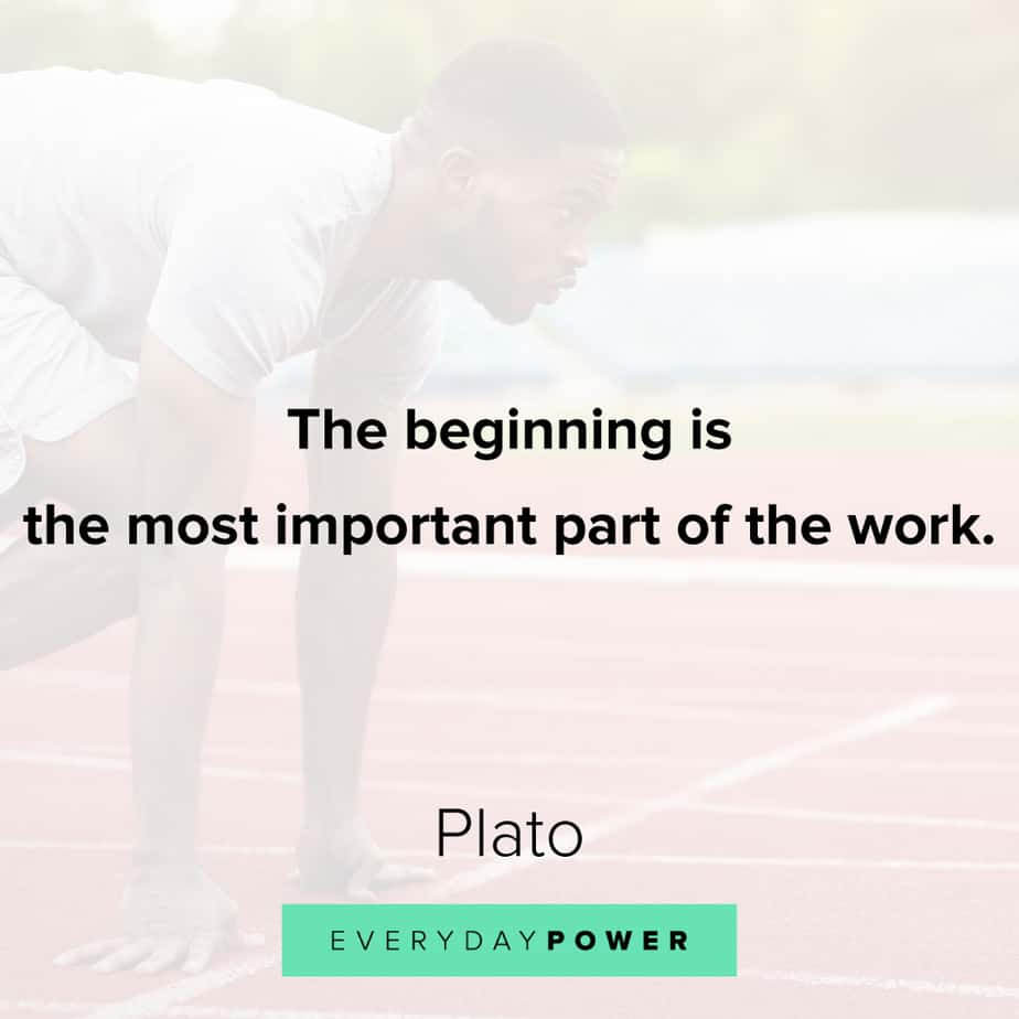 Quotes about new beginnings and work