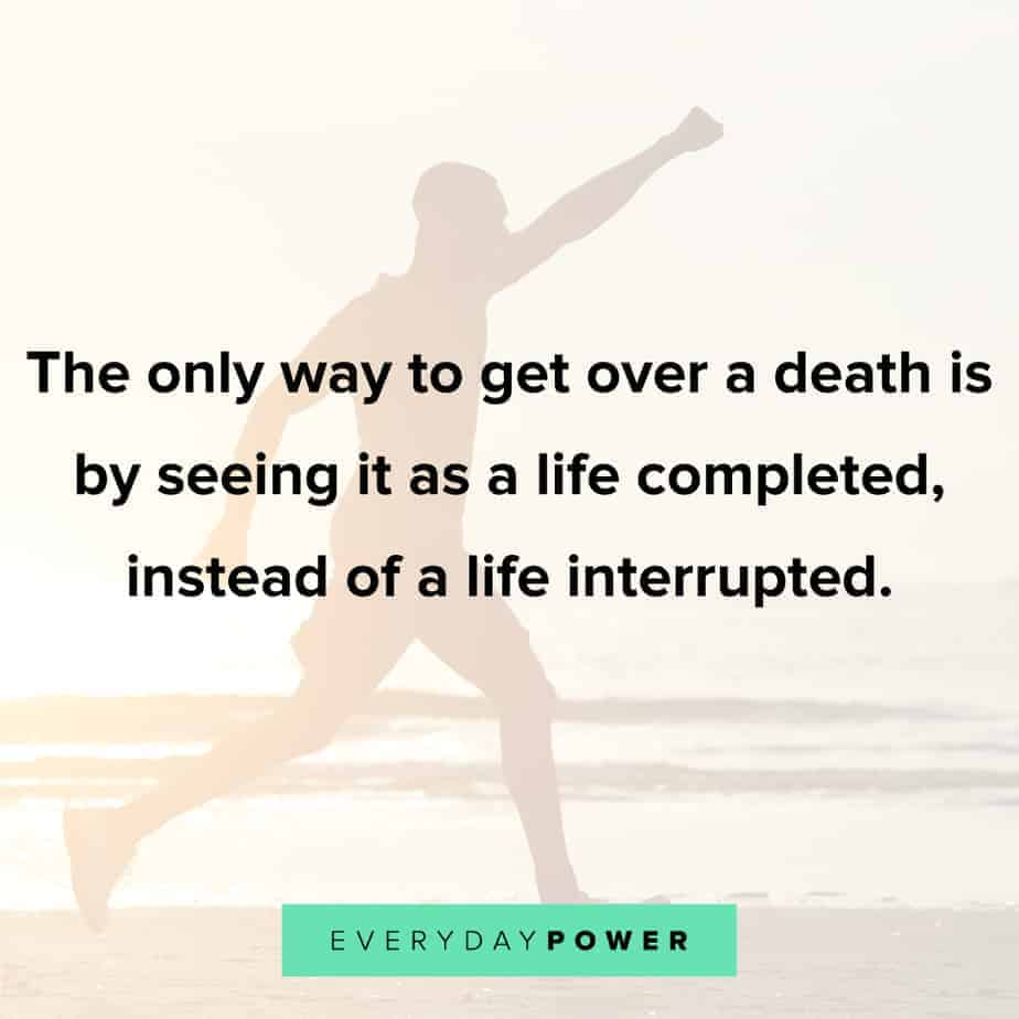 loss of a loved one quotes to uplift