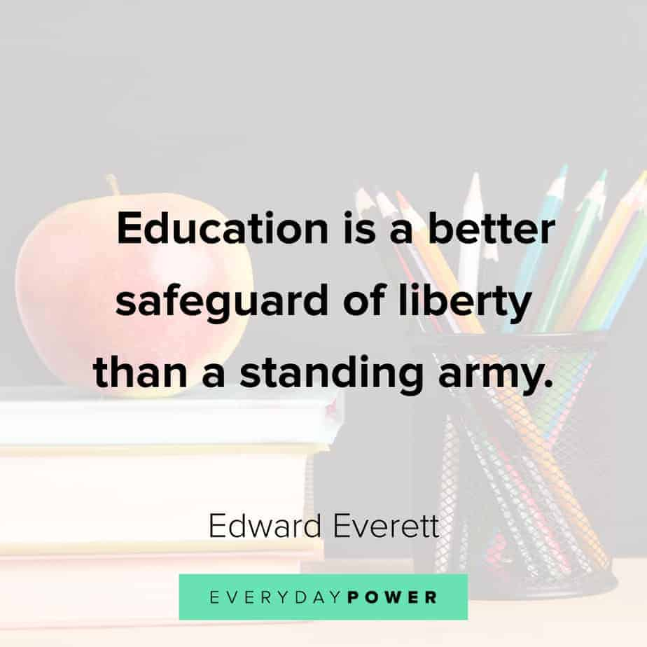 Quotes About Education and liberty