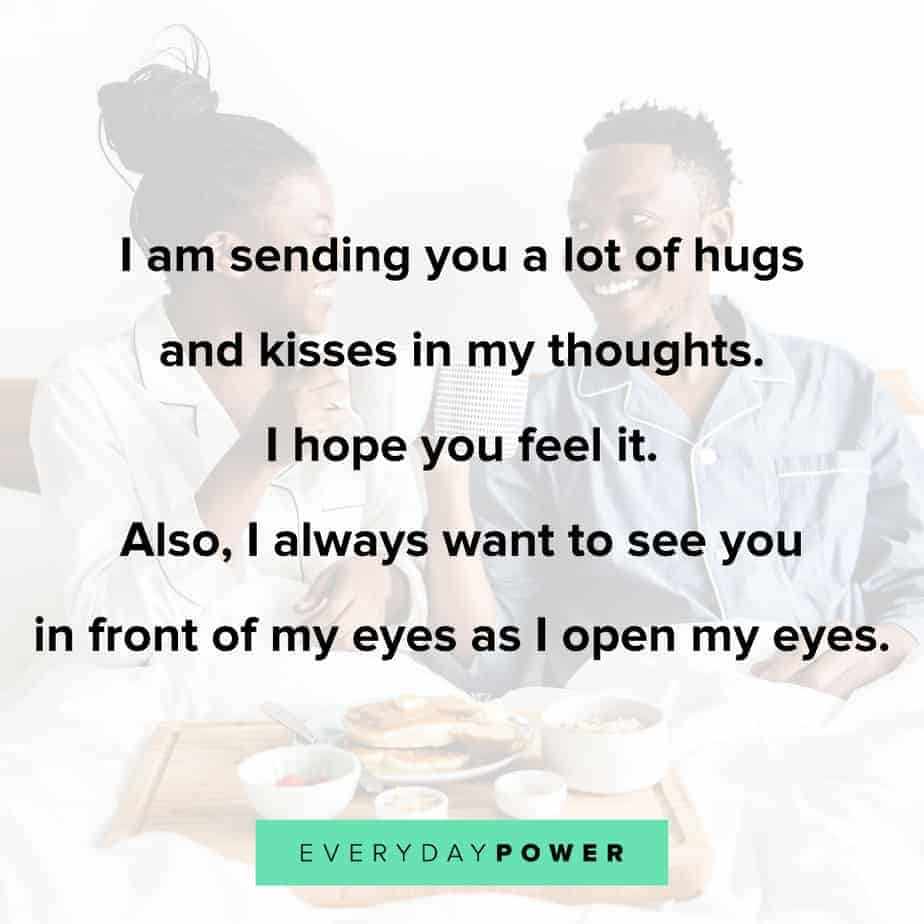 Good Morning Quotes for Him to make him feel special