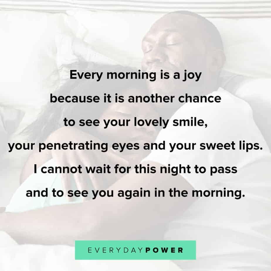 joyful Good morning texts for her