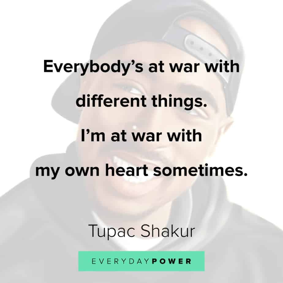 Tupac Quotes on self esteem