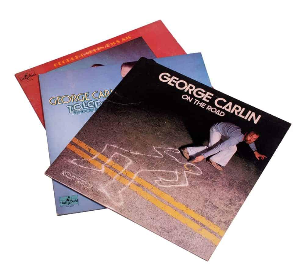 George Carlin Leaflets
