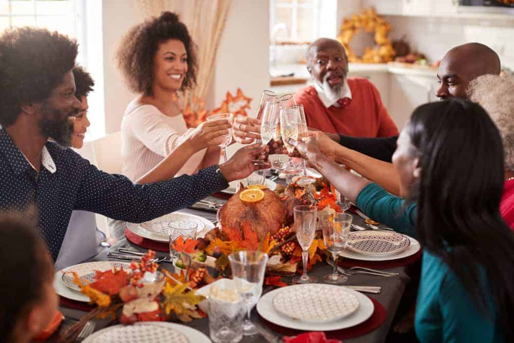 Thanksgiving Dinner with LoveOnes