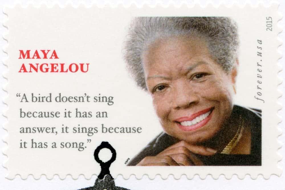 Maya Angelou the American Poet