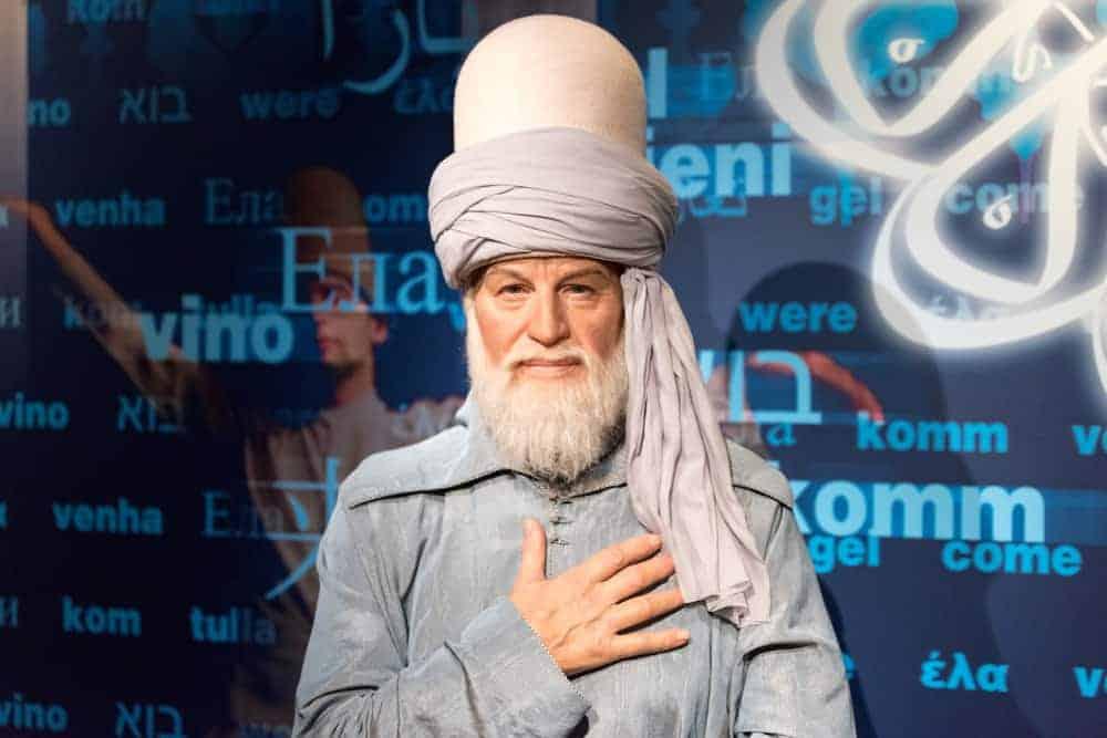 Rumi 13th century Persian poet