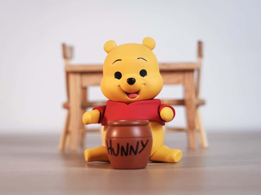 Winnie the Pooh the fictional teddy bear
