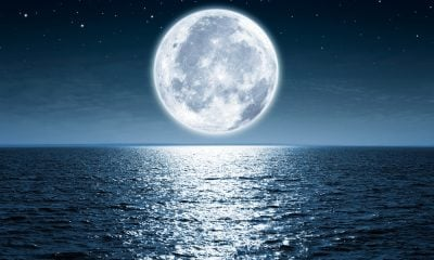 A Full Moon by the Sea