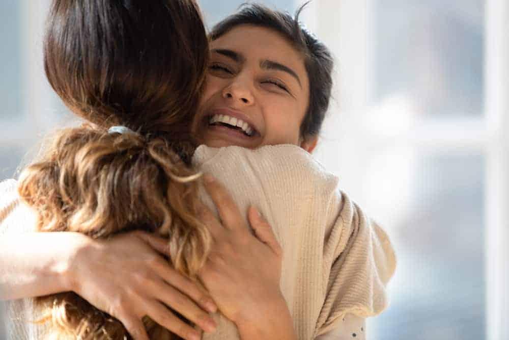 Hugging Moments