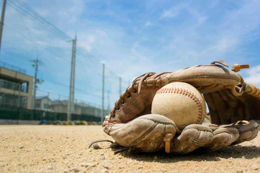 Baseball Gloves and Baseball ball