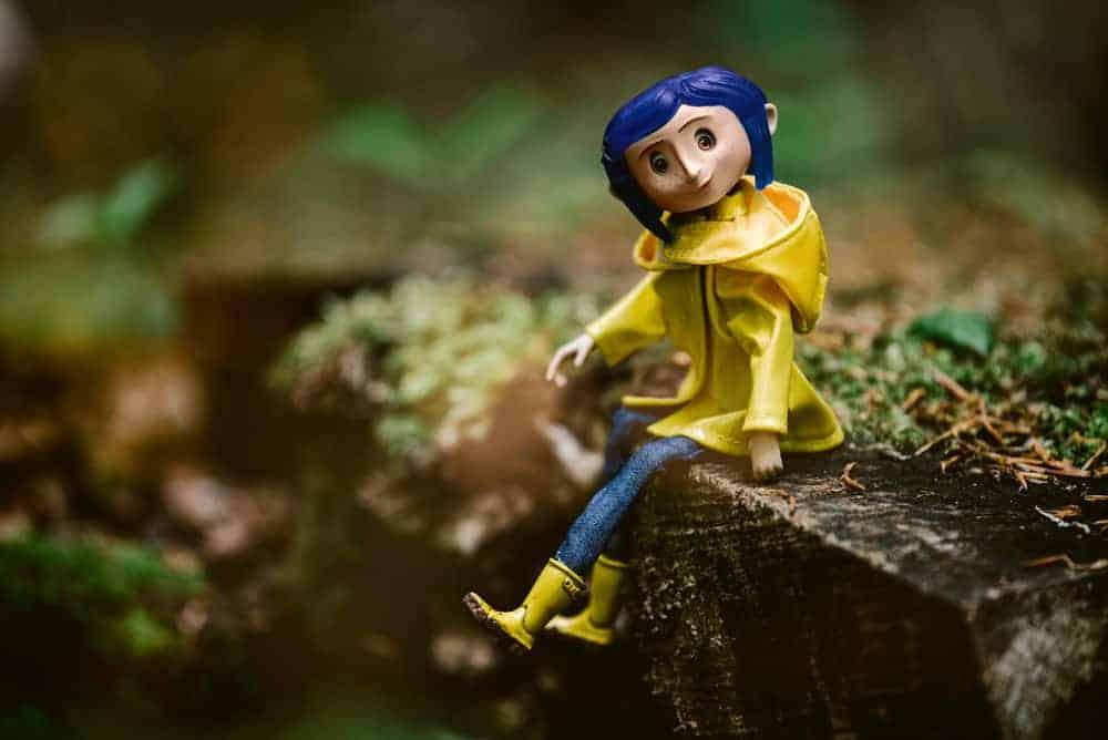 Creepy Coraline Doll