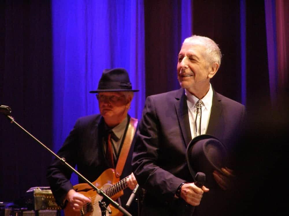 Great Singer Leonard Cohen
