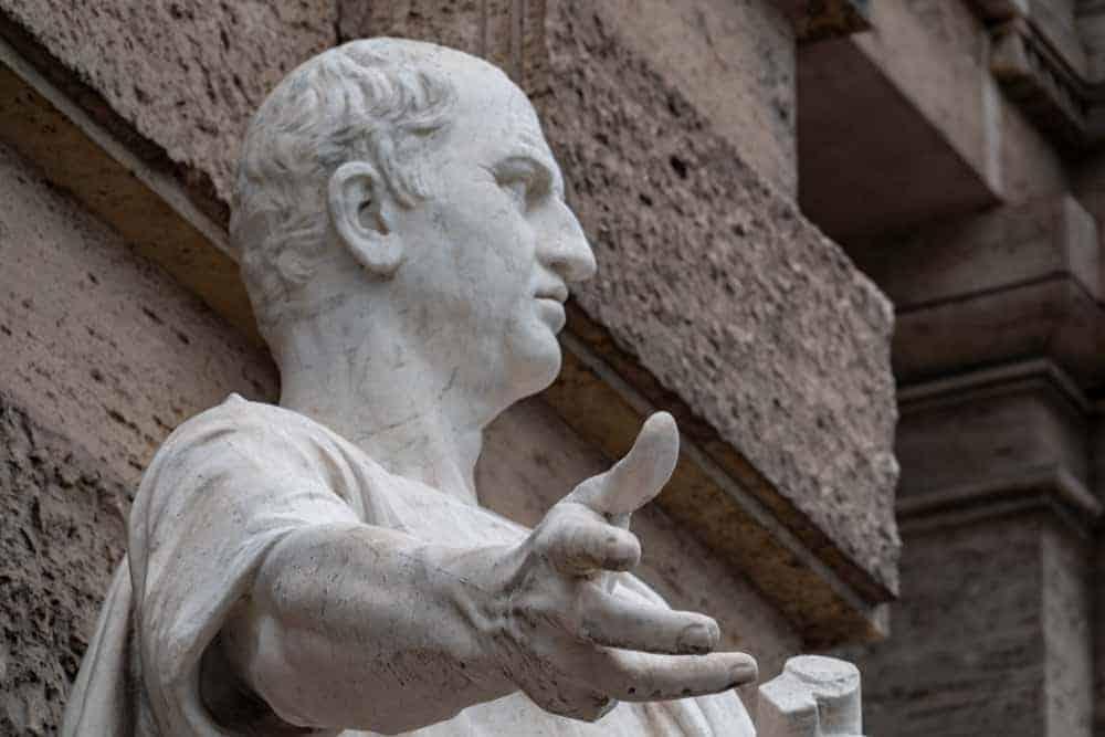 Mrcus Tullius Cicero Roman Statesman