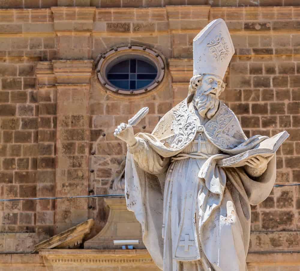St Augustine Statue