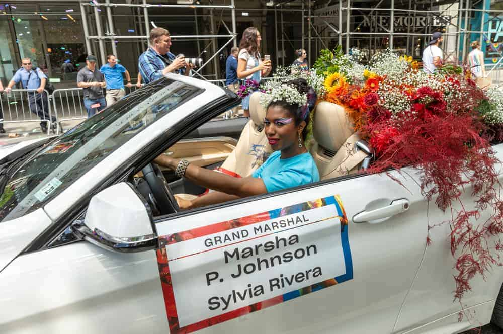A Picture of Marsha P Johnson
