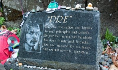 The Tomb of Steve Prefontaine