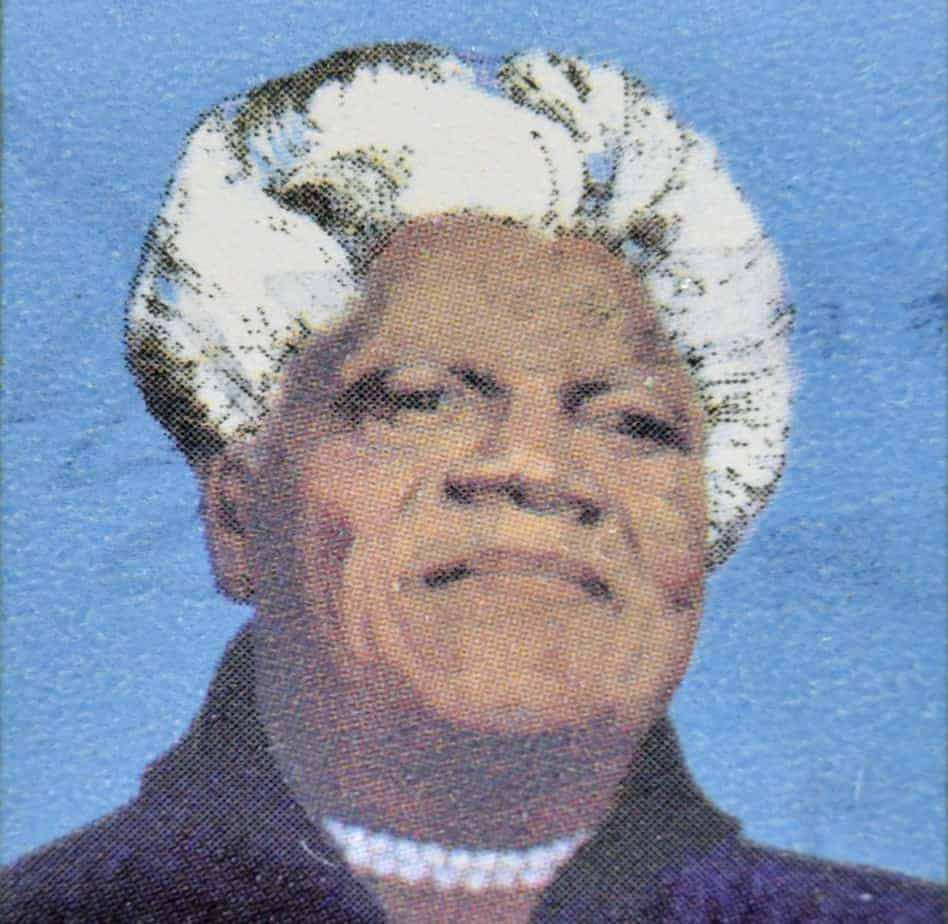 A Painting of Mary McLeod Bethune