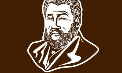A Drawing of Charles Spurgeon