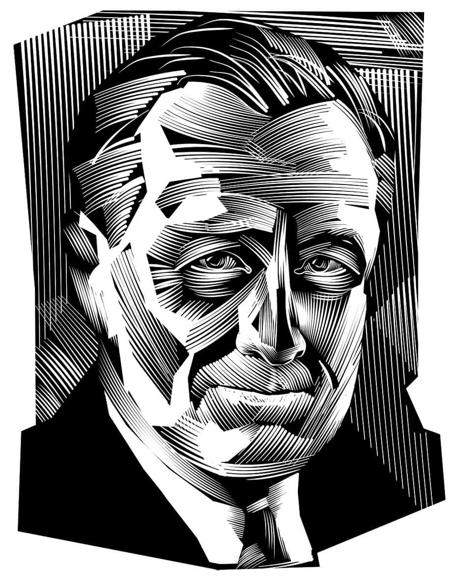 An Image of Franklin Roosevelt