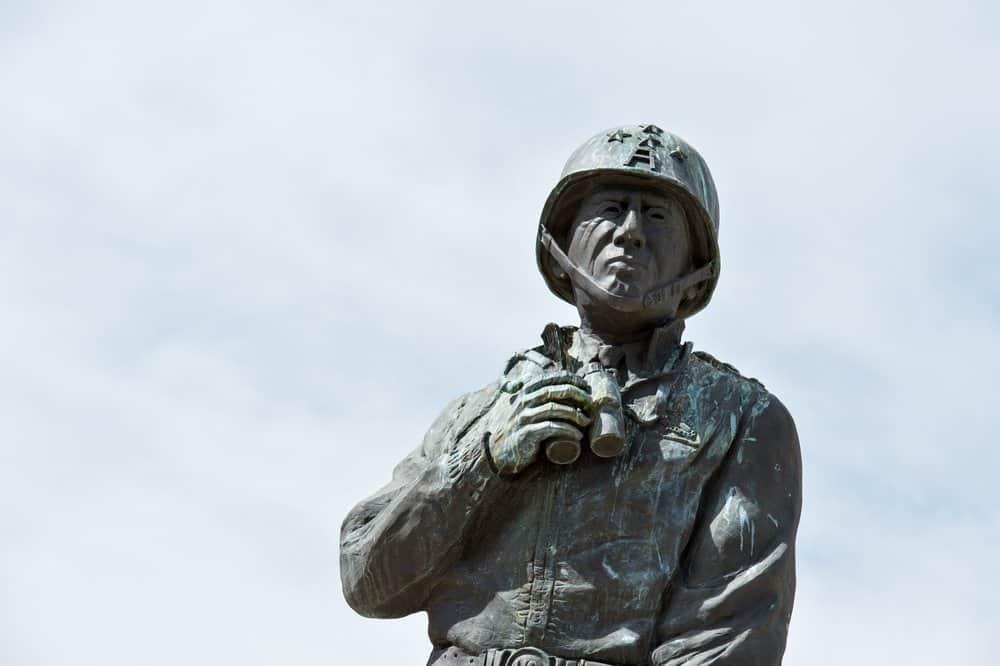 A Statue General Patton