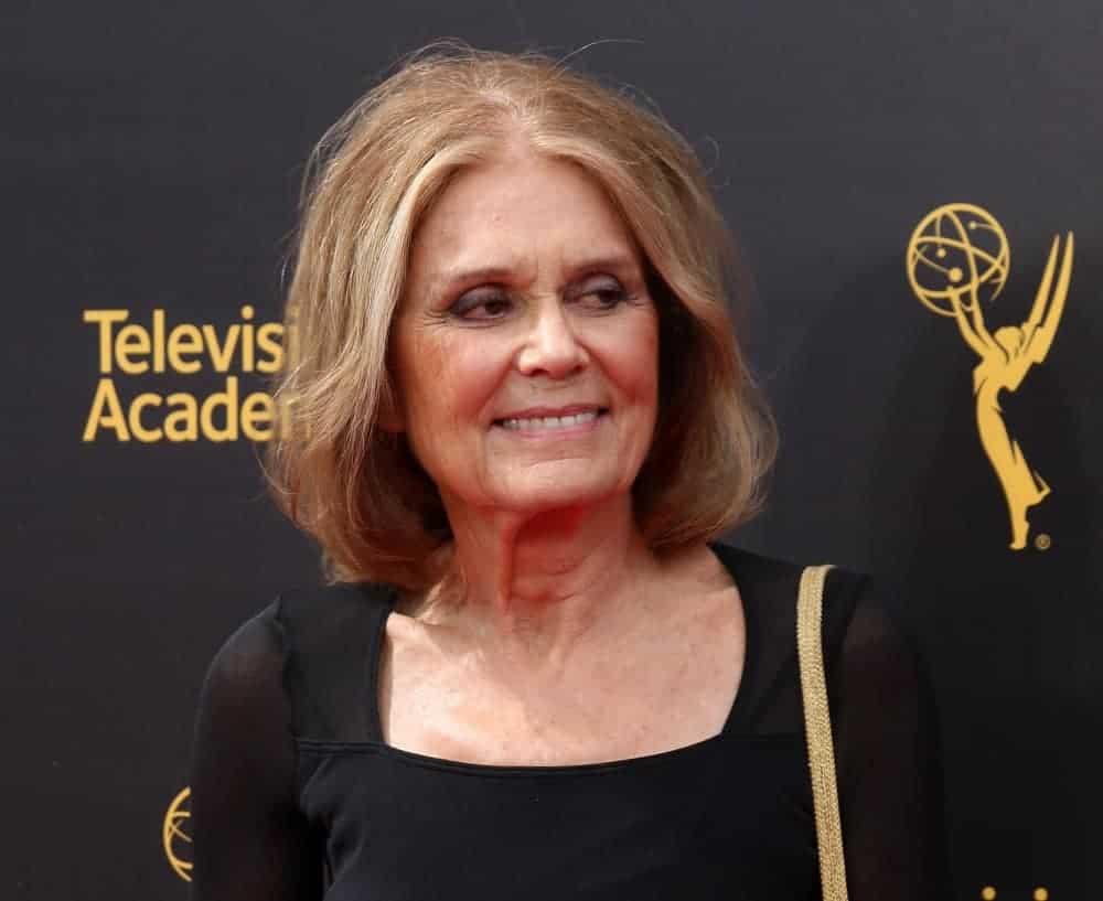 A Picture of Gloria Steinem