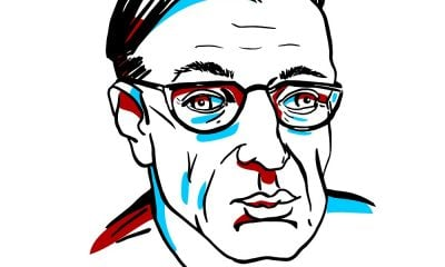 A Sketch of Jean-Paul Sartre