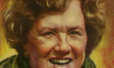 A Painting of Julia Child