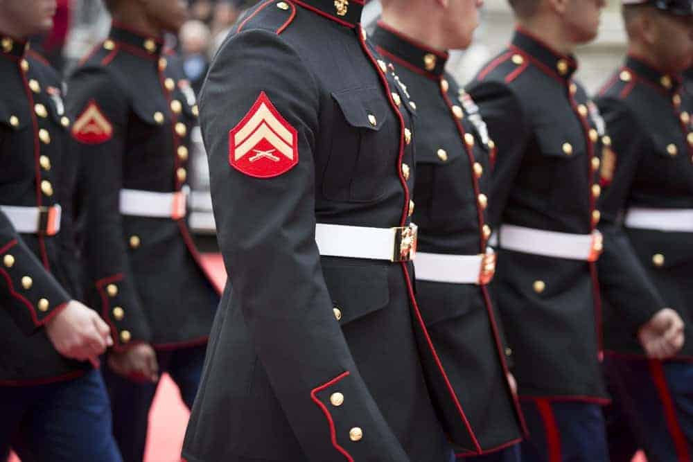 A Group of Marine Soldiers