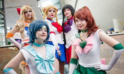 Sailor Moon Cosplayers