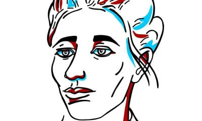 A Simone de Beauvoir Sketch