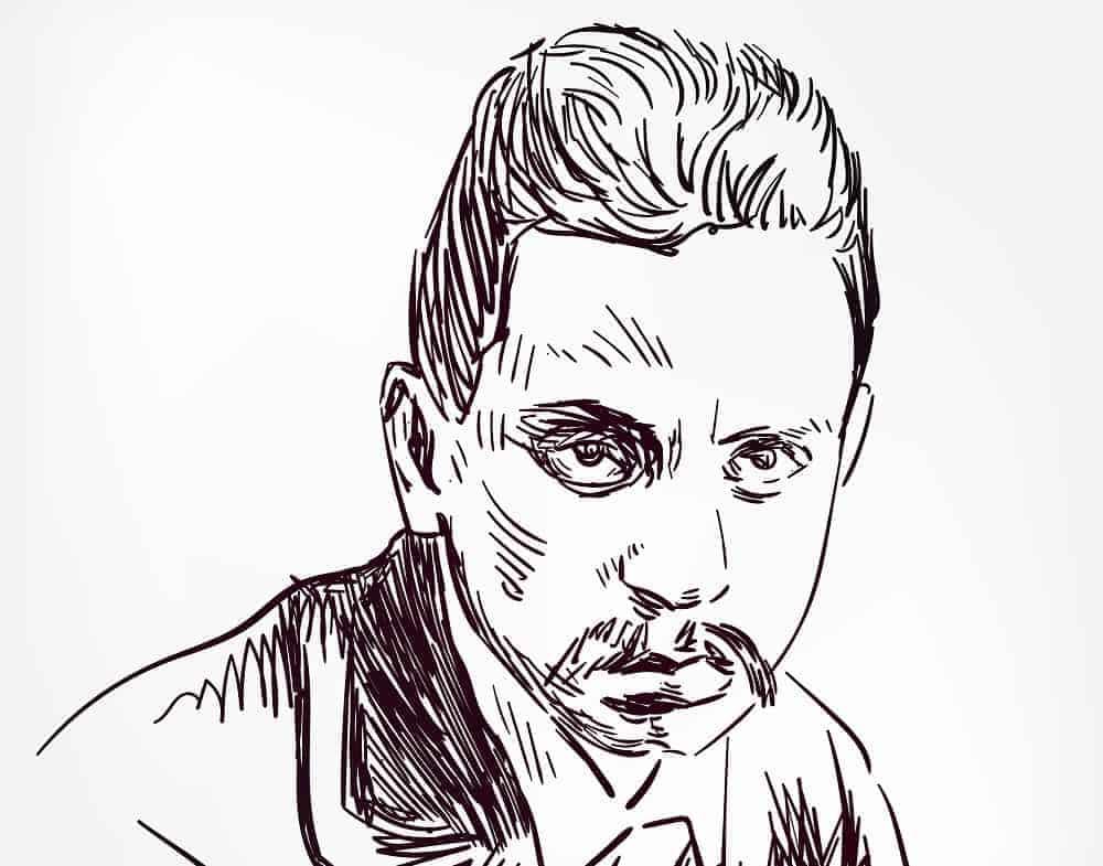 A Sketch of Rainer Maria Rilke