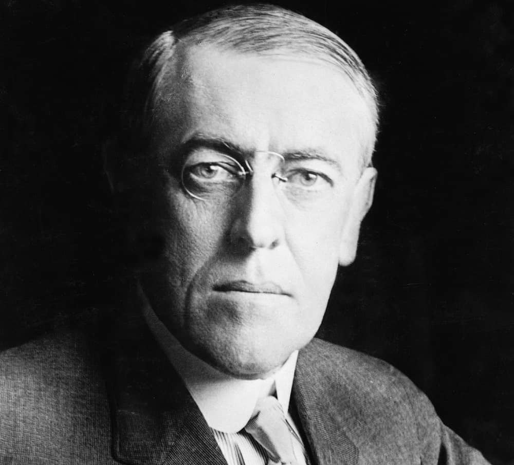 A Picture of Woodrow Wilson