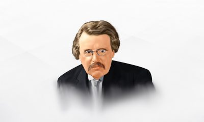 A Painting of G.K. Chesterton