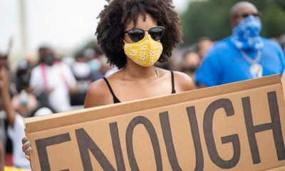 A Picture of a Female Protester