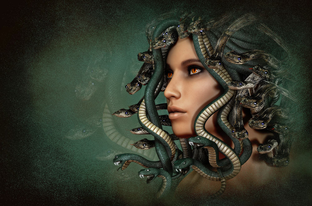 A Painting of Medusa