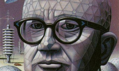 A Picture of Buckminster Fuller's Head