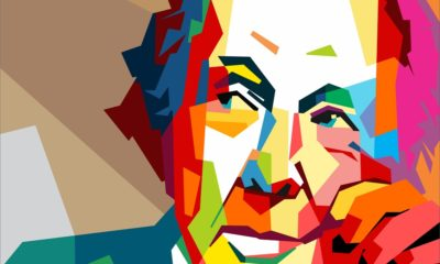 An Abstract Portrait of Frank Lloyd Wright