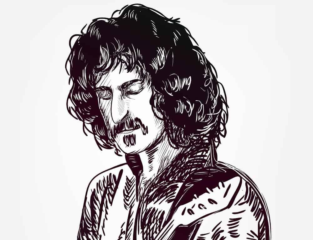 A Sketch of Frank Zappa