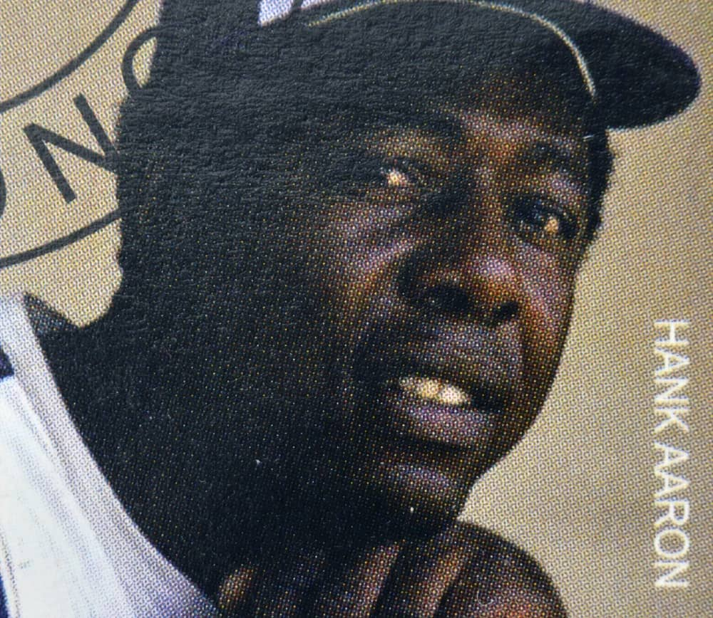 A Picture of Hank Aaron