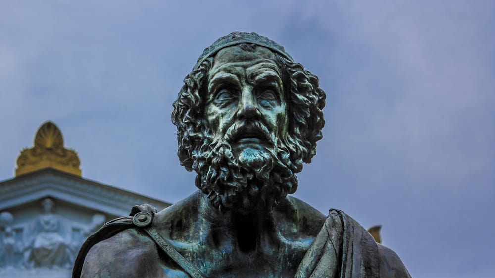 A Statue of Homer
