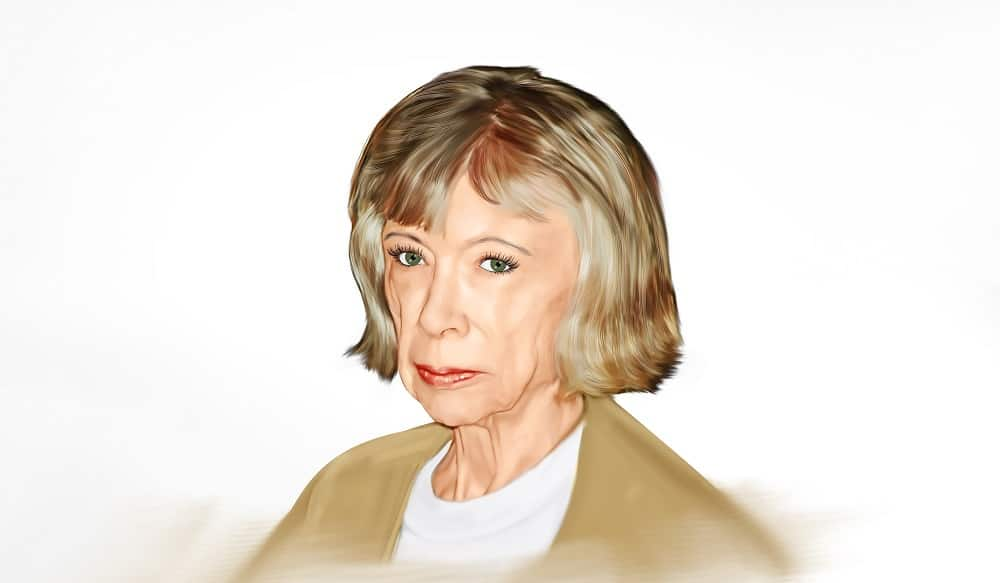 A Painting of Joan Didion