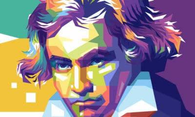 An Abstract Picture of Ludwig van Beethoven