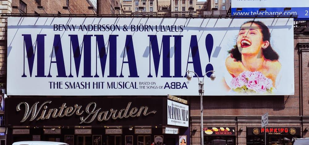 A Mamma Mia Billboard